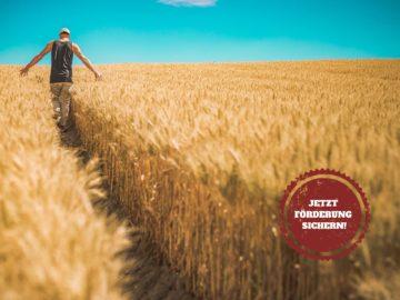 Die BLE bietet Landwirten eine umfassende Förderung.