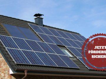 Solaranlage im Rahmen des 10.000-Häuser-Programms